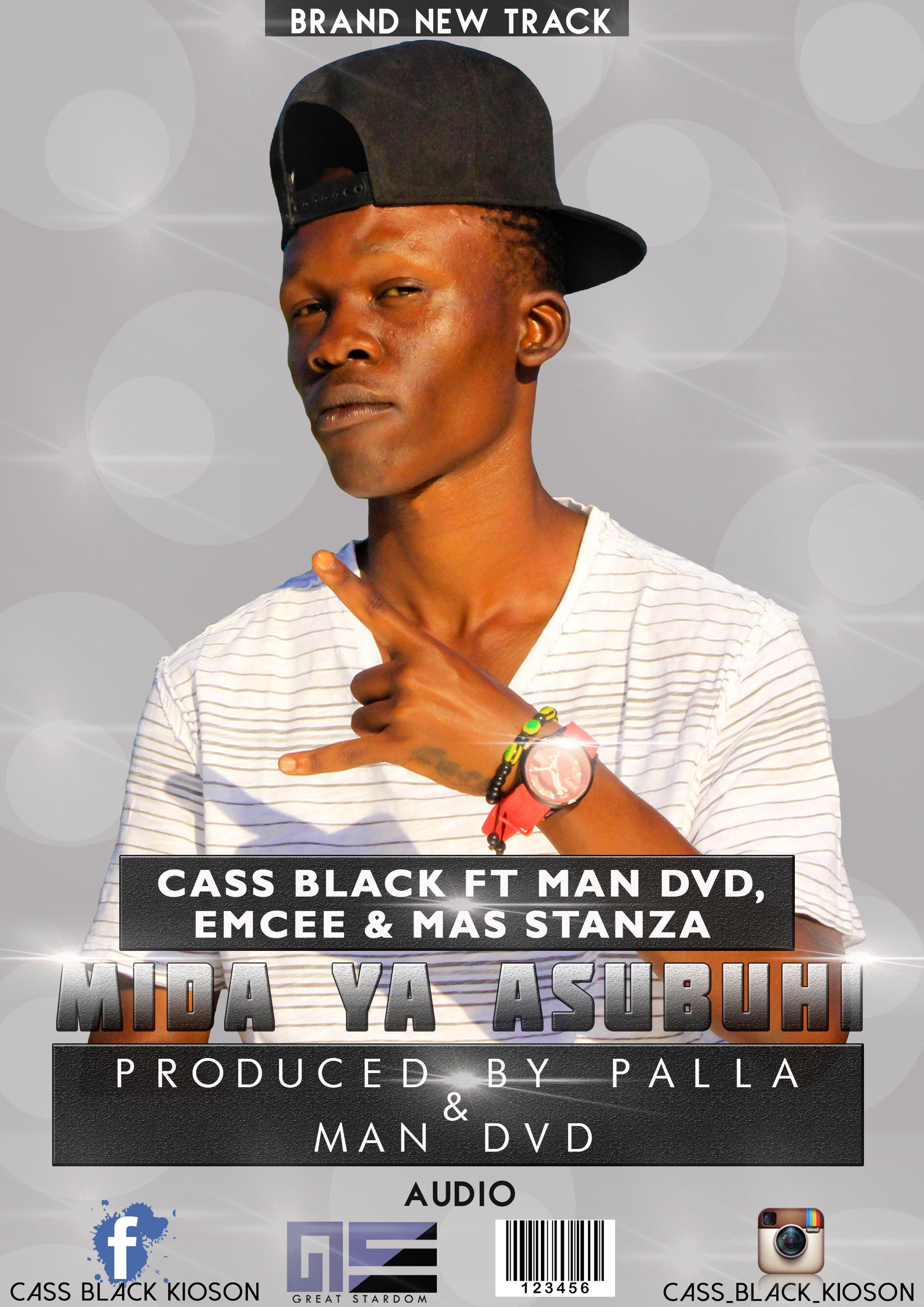 cass black kioson - Cass Black (Ndani ya Mc)ft Big latino+P the Mc