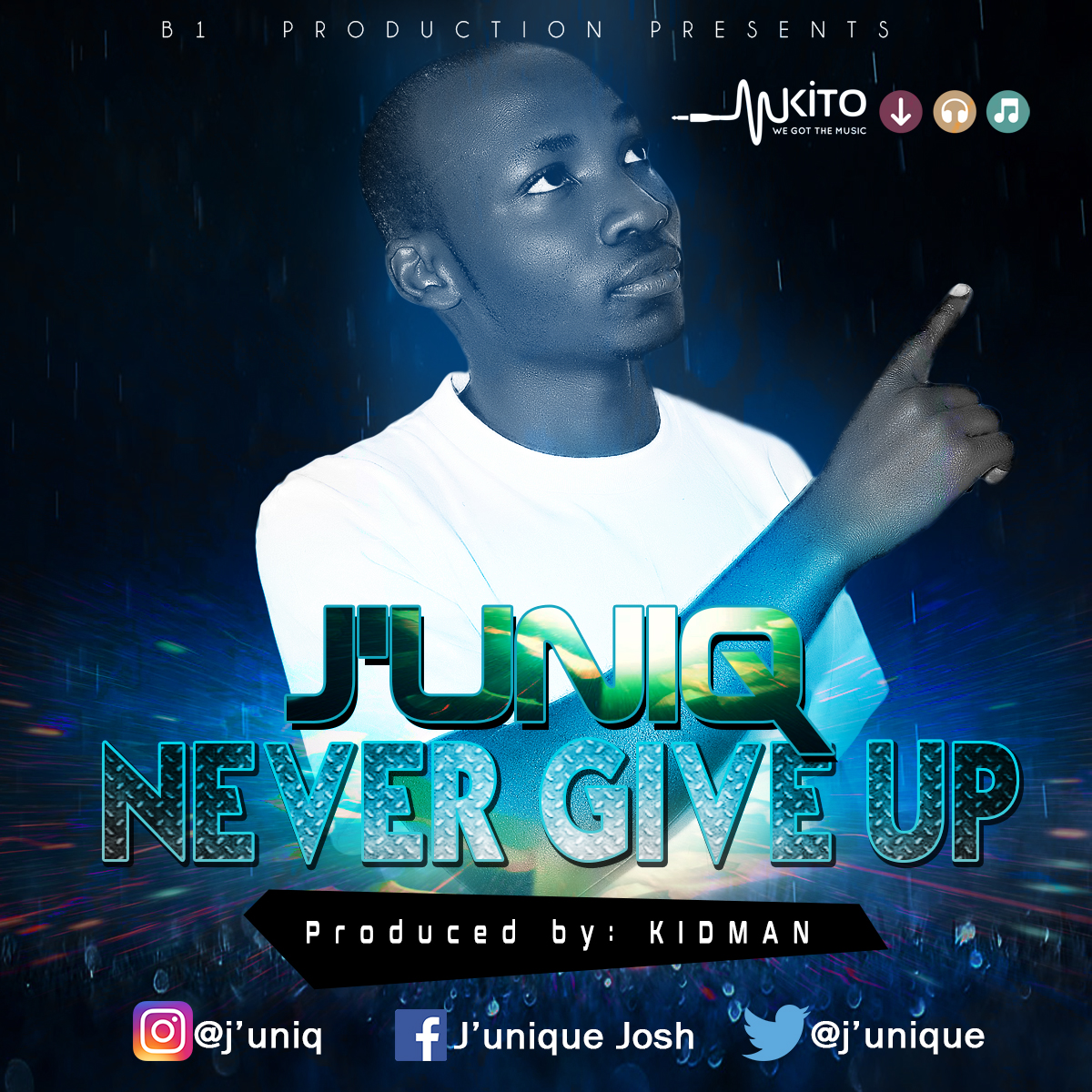J'uniq -  j'uniq-never give up
