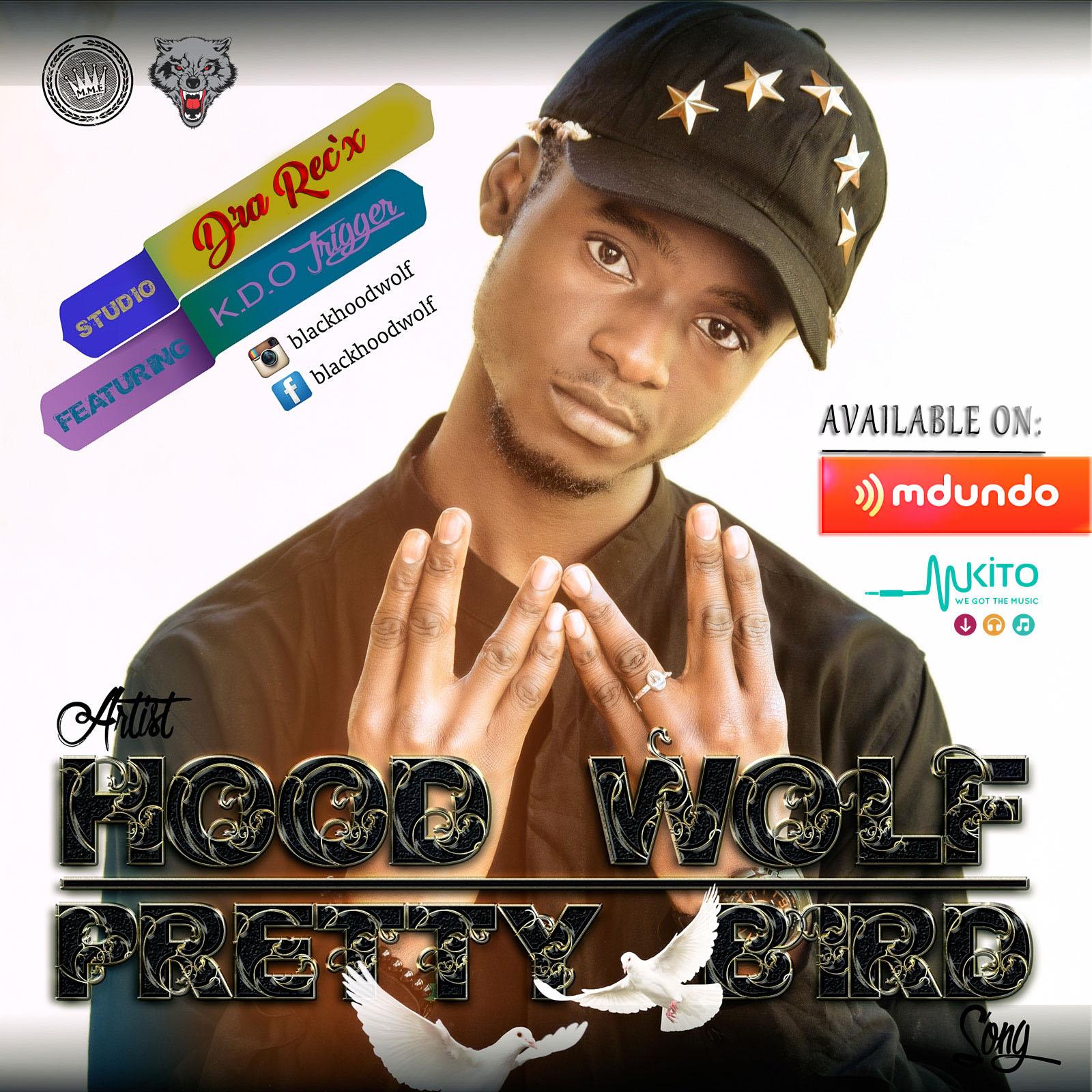 Black Hood Wolf -  IL.O.V.E Y.O.U