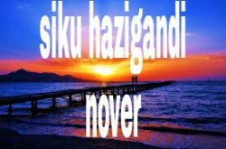 NOVER - NOVER_siku hazigandi(official song)
